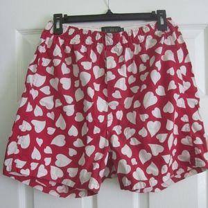 J.Crew Heart Boxer Shorts